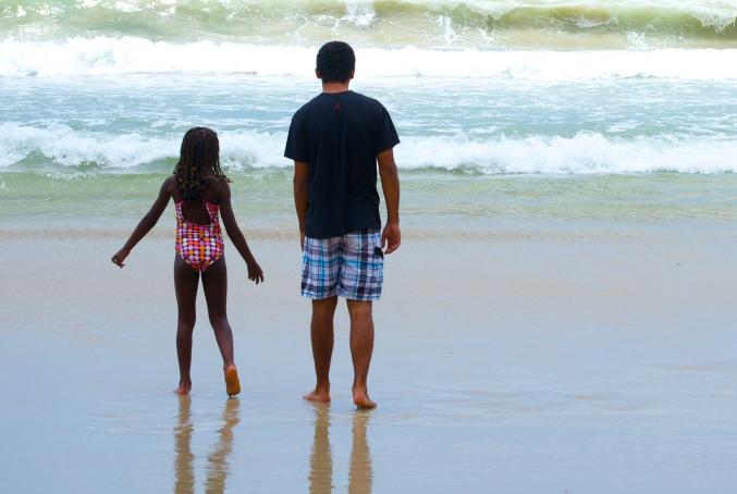 beach sibs