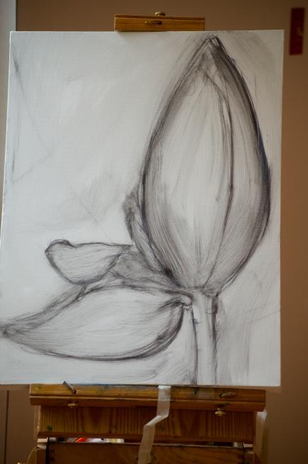 banana sketch