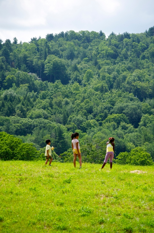 kids in vt field