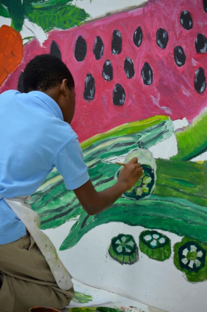 mural okra
